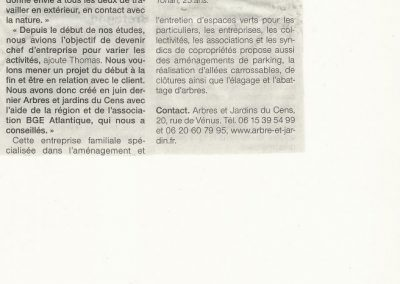 Ouest France 15/12/2012