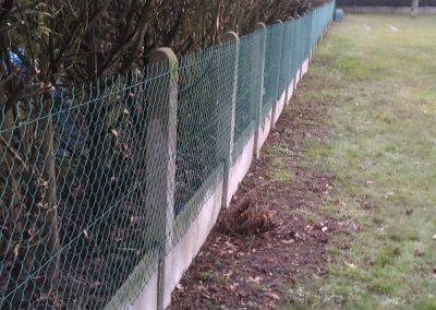 Après intervention, clôture d'une école Orvault