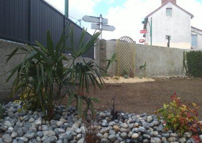 Jardin dans l'Indre