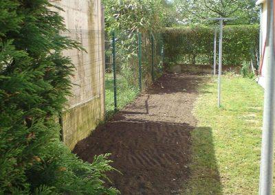 Jardin après intervention